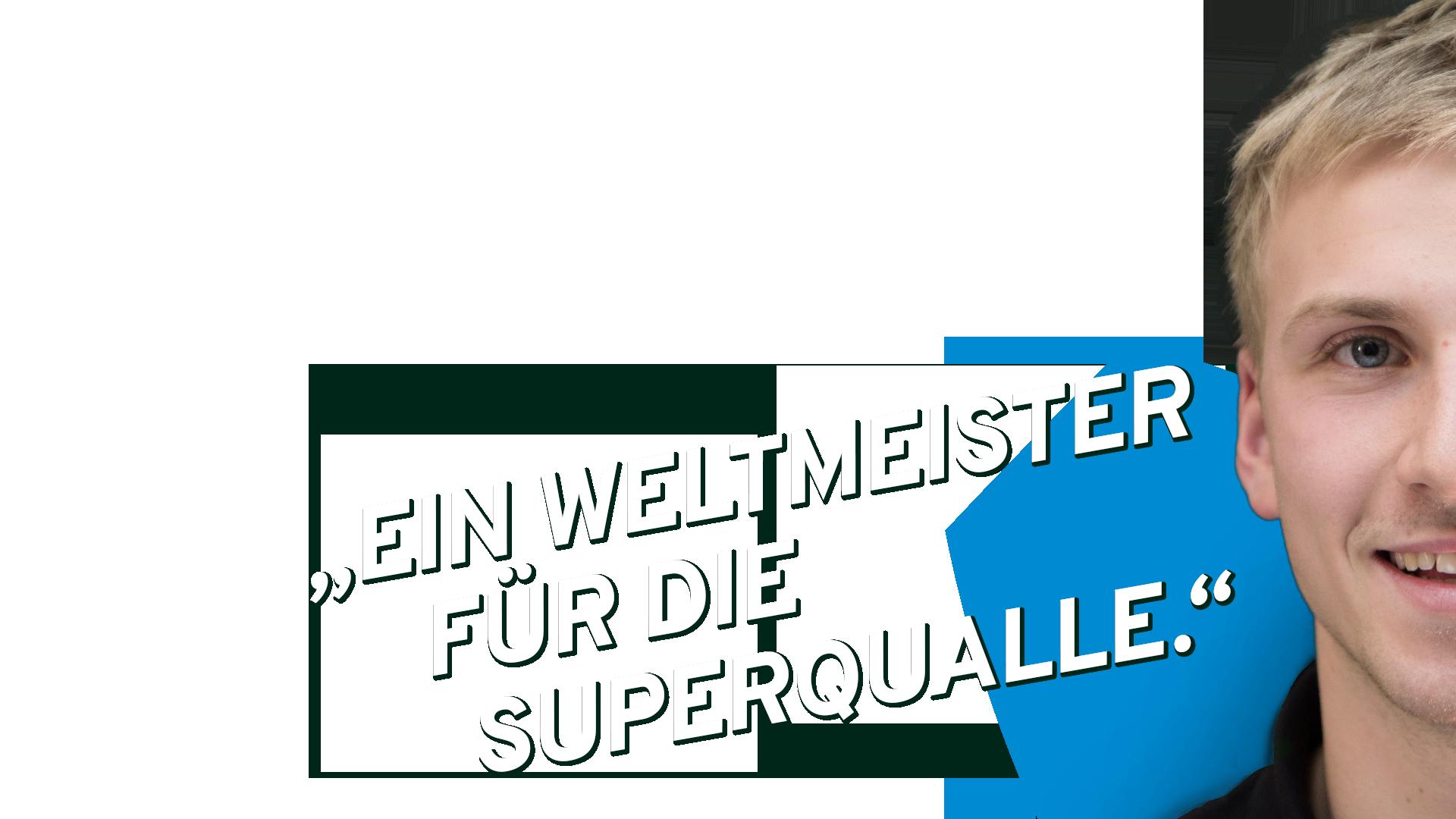 """""""Ein Weltmeister für die Superqualle."""" Micha und die AquaJellie von Festo"""